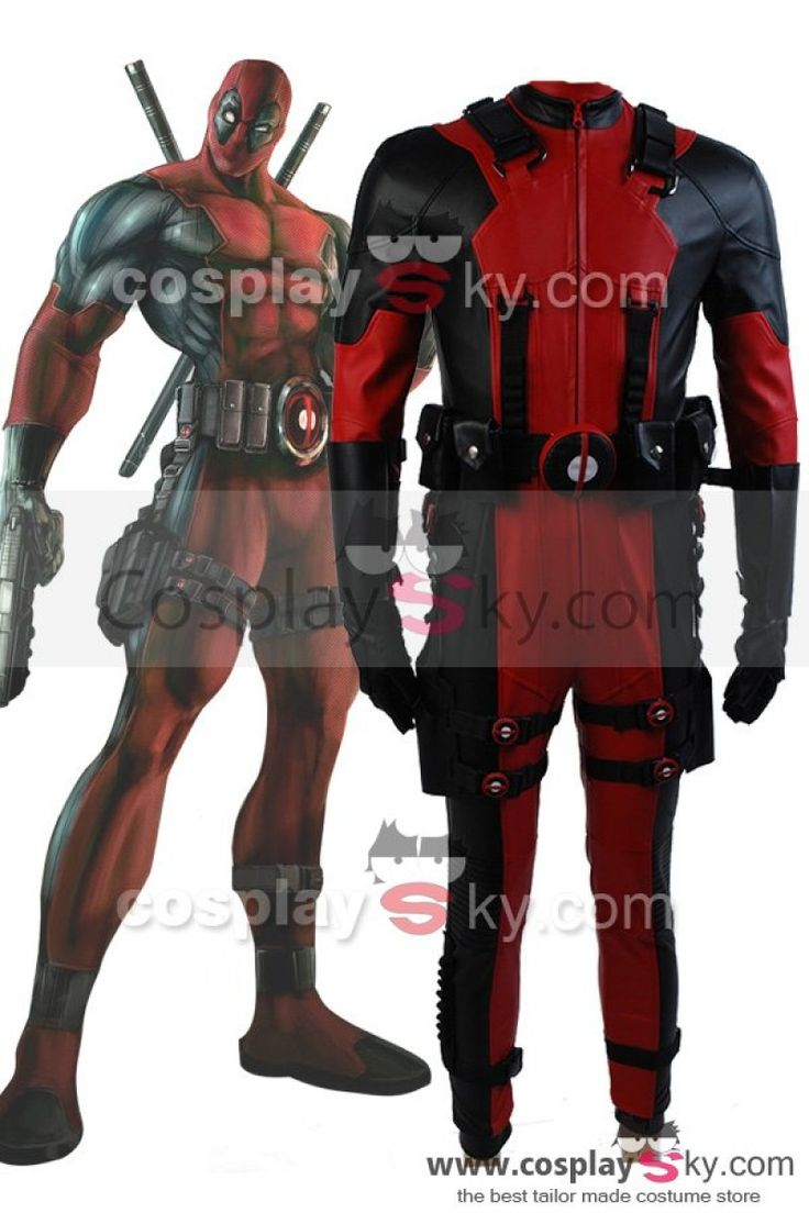 Marvel Comics Deadpool Cosplay Costume +Abelmueller ...