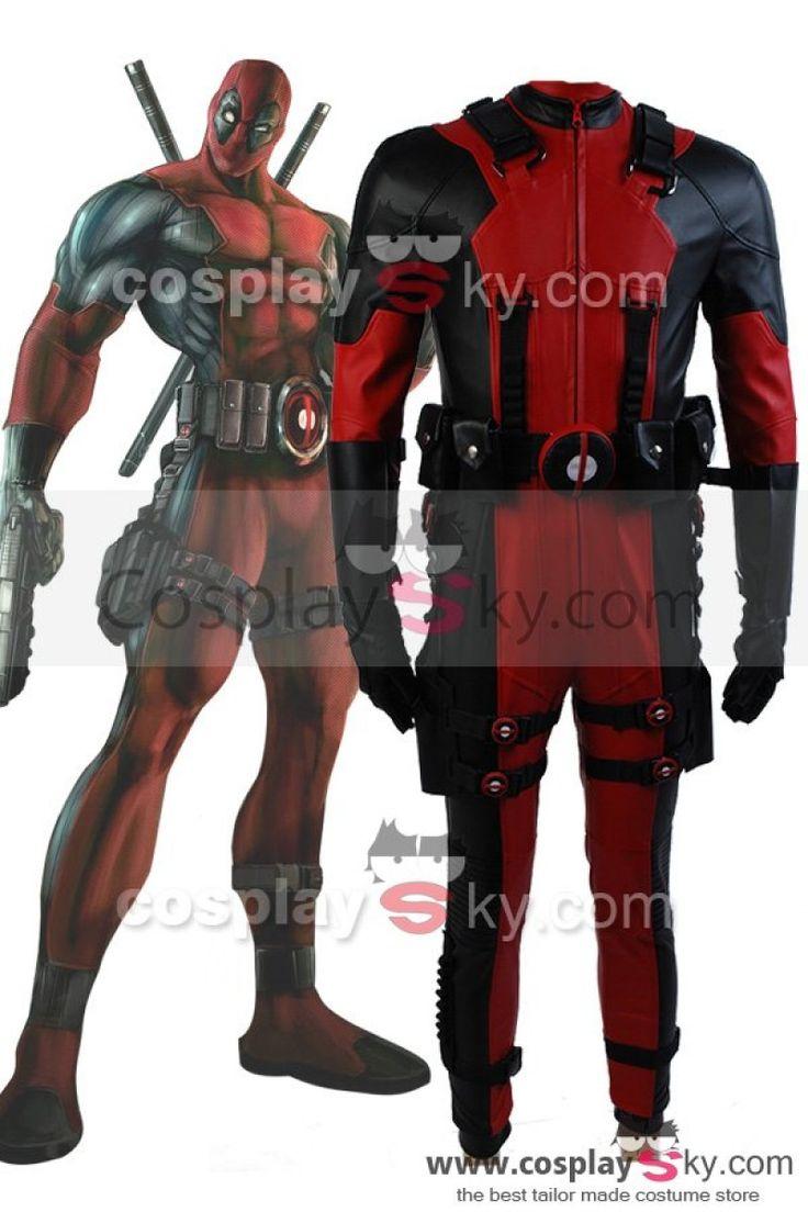 Marvel Comics Nuevos Mutantes Deadpool Cosplay Disfraz