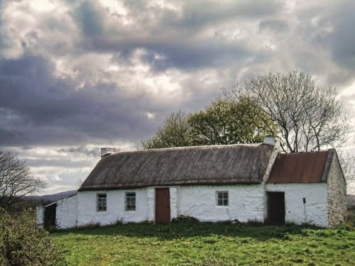 thatched cottage, Co. Donegal