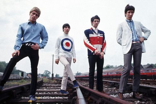 The Who in their prime. #Mods