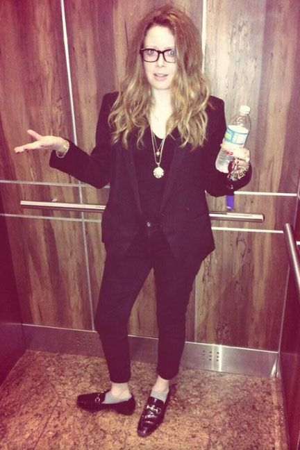 Natasha Lyonne - can't live without her black blazer.