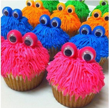 Monster Cupcake Fun!