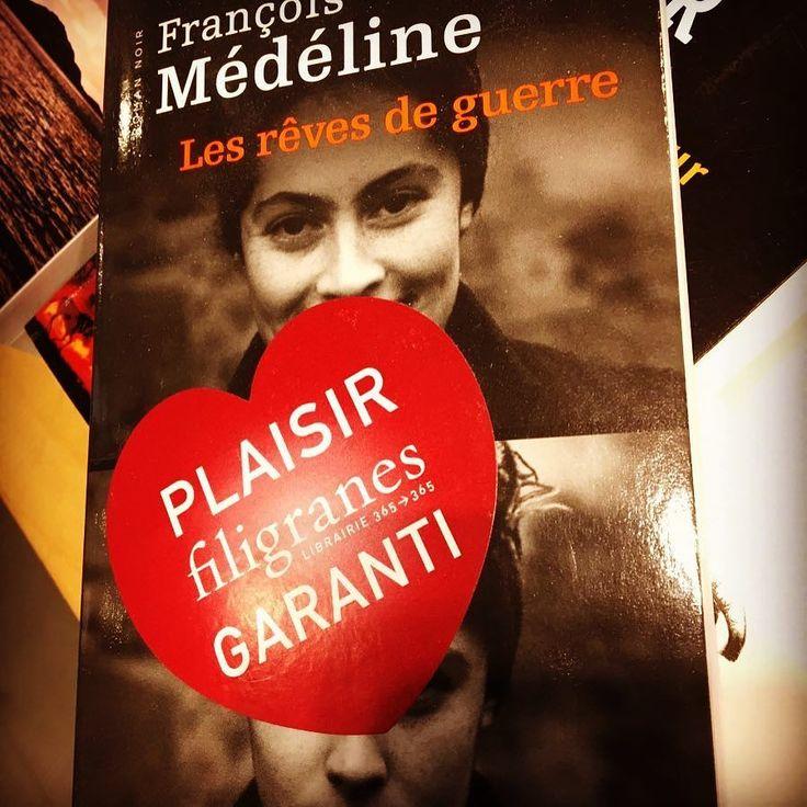 Les rêves de guerre de François Médéline @editionspoints @la_manufacture_de_livres  Coup de cœur de la librairie Filigranes à Bruxelles @librairie_filigranes #coupdecoeurlitterature #lespetitsmotsdeslibraires #libraires