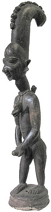eshu the trickster | File:Eshu-statue.jpg - Wikipedia, the free encyclopedia Eshu is the most well-known trickster in African mythology.