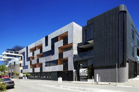 The Maze Apartments by CHT Architects (Australia)