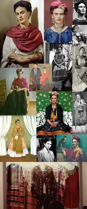 frida kahlo inspired fashion - Bing Images