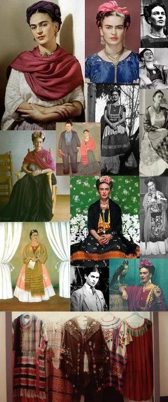 frida kahlo inspired fashion - Bing Images