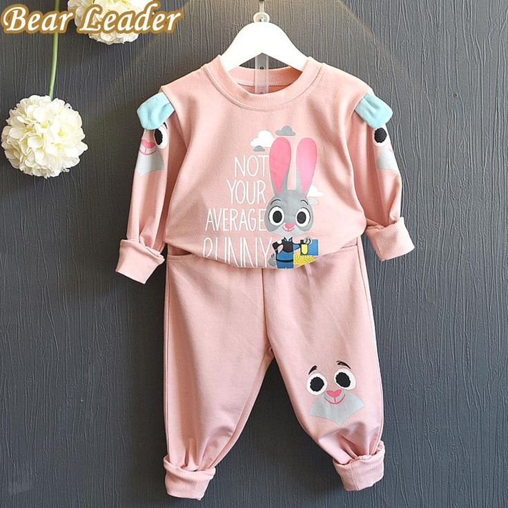 s Winter Style Girls Clothes Kids Sportswear Cartoon Cute Rabbit Sweatshirts+Pants 2pcs Suits $23.78   => Save up to 60% and Free Shipping => Order Now! #fashion #woman #shop #diy  http://www.bbaby.net/product/bear-leader-girls-clothing-sets-2016-winter-style-girls-clothes-kids-sportswear-cartoon-cute-rabbit-sweatshirtspants-2pcs-suits