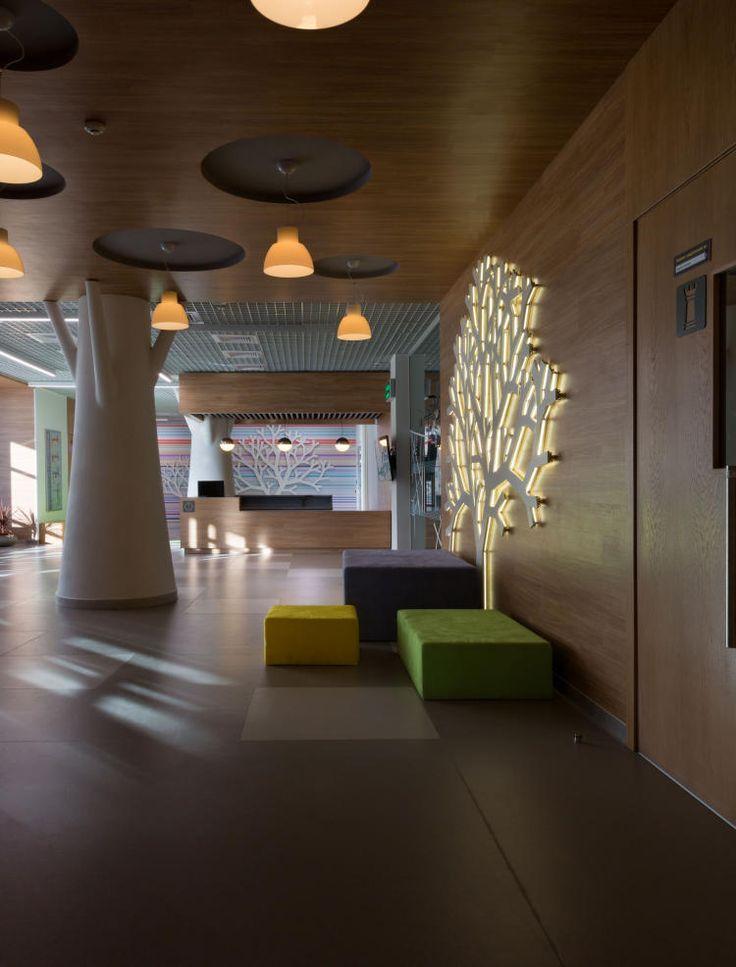 HIS: Школа будущего. Общественный интерьер от студии Dream Design