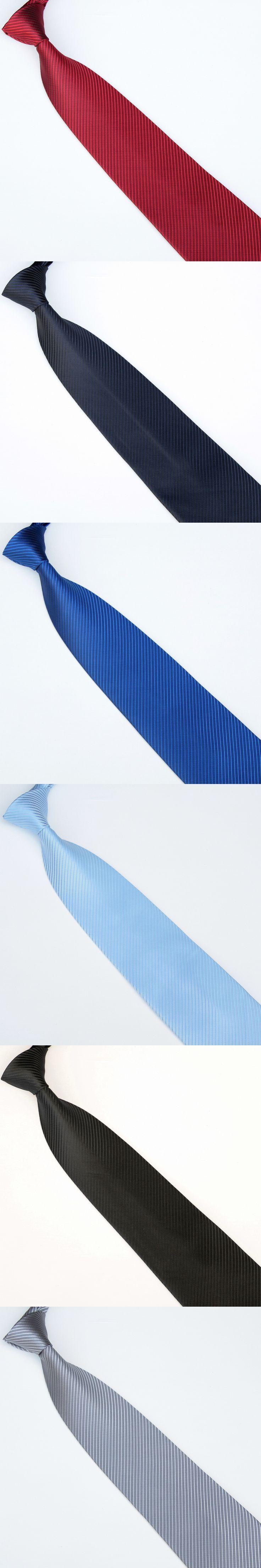 men's neckties solid 19colors cravat ties 10cm width Gravatas Mariage Wedding 2017 neck tie