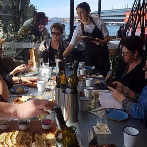 Another new location for casual dining to add to your Hobart list is Brooke Street Larder in the lower level of Brooke Street Pier. Image credit: Barb Fisher