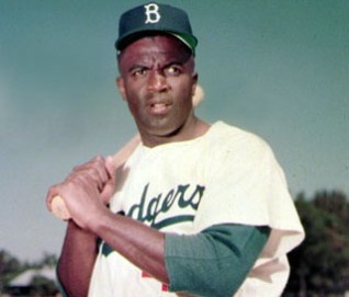On this day 66 years ago, Jackie Robinson integrated major league baseball playing with the Brooklyn Dodgers. Today all baseball players will wear #42 in Robinson's honor. Did you also know he was legendary in his efforts for civil rights?