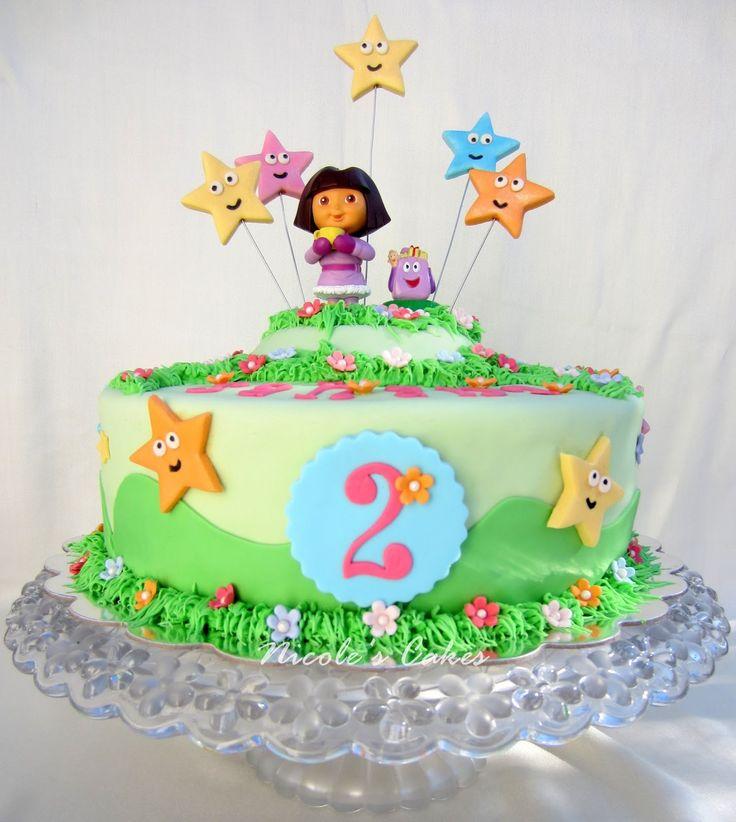 8 best Dora the Explorer cake images on Pinterest Dora cake
