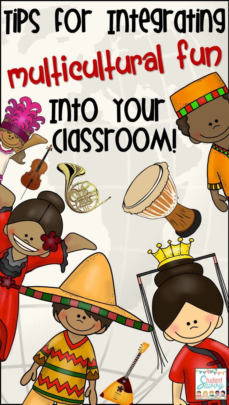 integrate multicultural fun into the classroom great