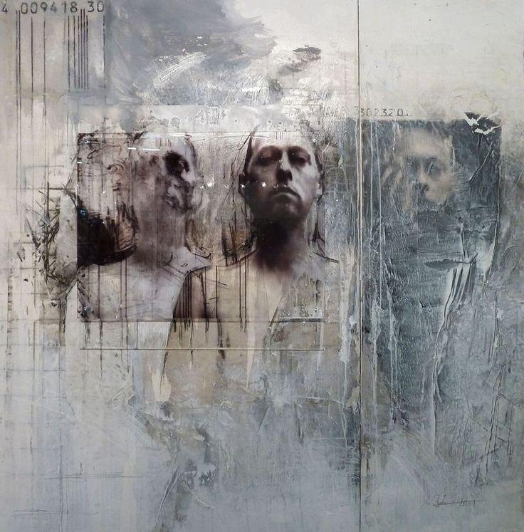 "Saatchi Online Artist: Ulrike Bolenz; Wood, Mixed Media ""."""