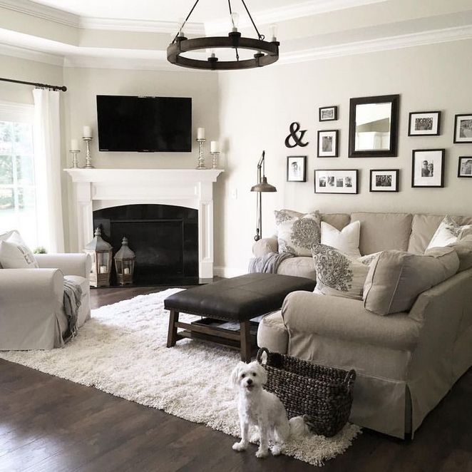 59 Amazing To Home Decor Ideas Living Room Rustic Style 57 Diyhomedecor Homed Farm House Living Room Farmhouse Style Living Room Farmhouse Decor Living Room