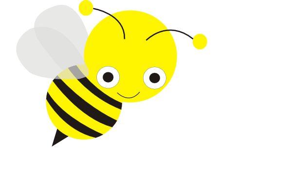 Clip Art Pictures Bees   Bee clip art - vector clip art online, royalty free & public domain