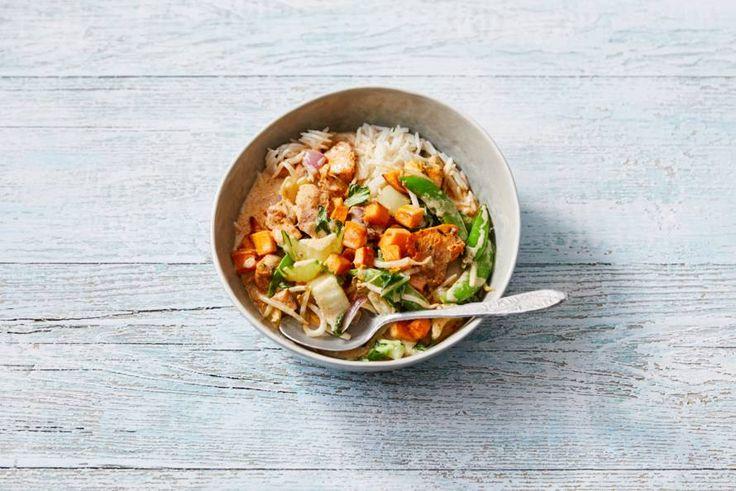 Zoete-aardappelcurry - Recept - Allerhande