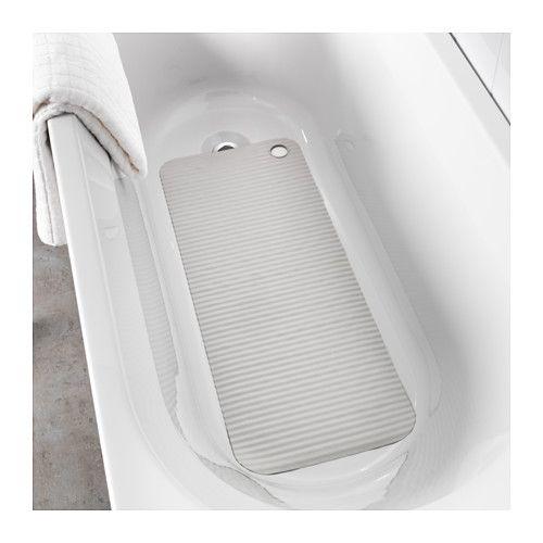 24,99 PLN DOPPA Mata do wanny IKEA Przyssawki utrzymują matę bezpiecznie na miejscu w wannie lub kabinie prysznicowej.