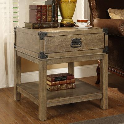Coast to Coast Imports Trunk End Table & Reviews | Wayfair