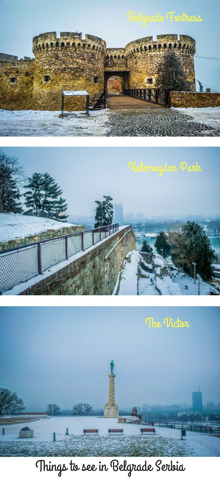 What to do in Belgrade visit Belgrade Fortress which is located in the Kelemegdan Park on the banks of the Danube River  | Things to do in Belgrade | Belgrade Serbia | Kelemegdan Fortress | Belgrade in the Balkans | Whats in Belgrade | Belgrade Fortress | Belgrade Attractions |