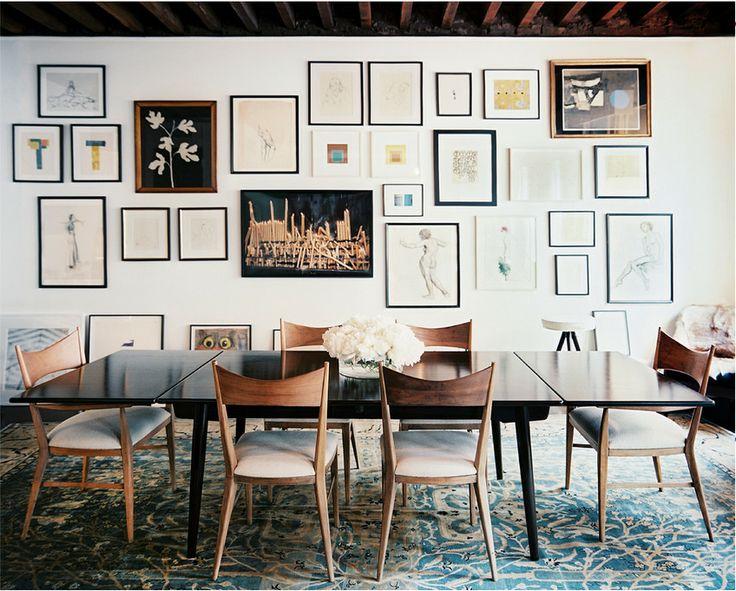 Julia Leach | Lonny mag | love the gallery wall
