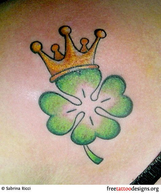 Clover tattoo....like  mine