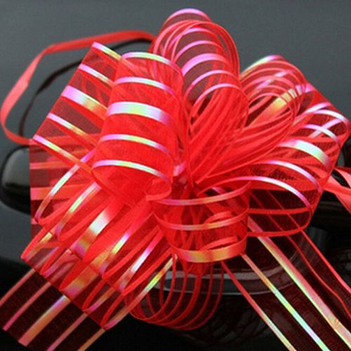 10 Pcs 50mm Organza Ribbon Pull Bows Wedding Party Car Decoration DIY Gift Wrap #Affiliate