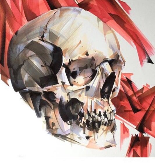 - Skull - (jackofthedust)