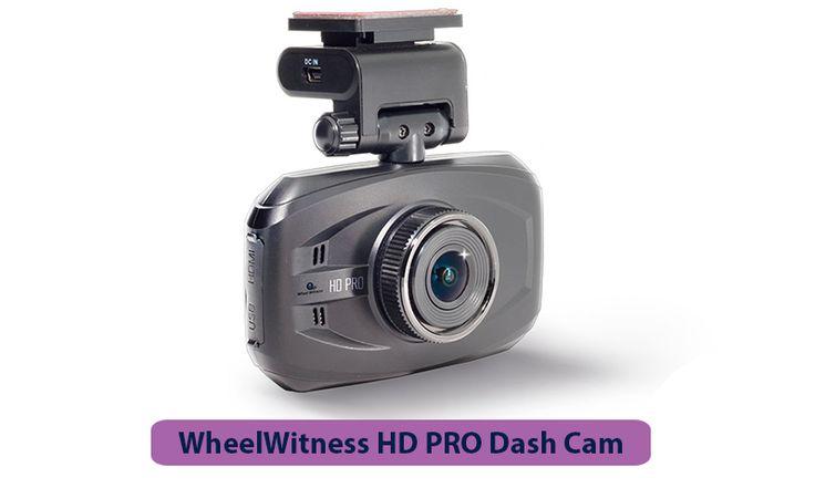 WheelWitness HD PRO Dash Cam with GPS - 2K Super HD - 170° Lens - 16GB microSD - Advanced Driver Assistance - For 12V Cars & Trucks - Night Vision Dashboard Camera Ambarella A7LA50 Car Security DVR #bestdashcamforcar #dashcamfrontandrear #cardashcamera  #bestdashcamera