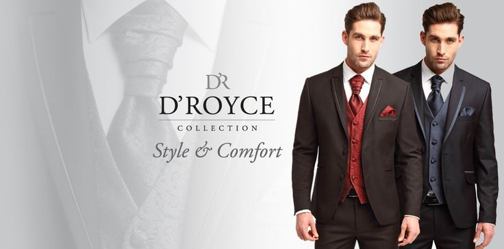 D'Royce will be featuring their men's collection at our upcoming Fashion Gala. Purchase your tickets at https://www.eventbrite.ca/e/sharleez-fashion-show-gala-tickets-26859024064?platform=hootsuite