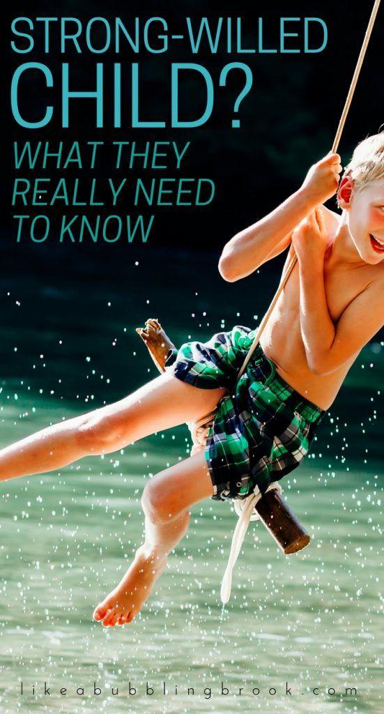 Strong willed child | Hyper children | Child not listening. Tell them this!