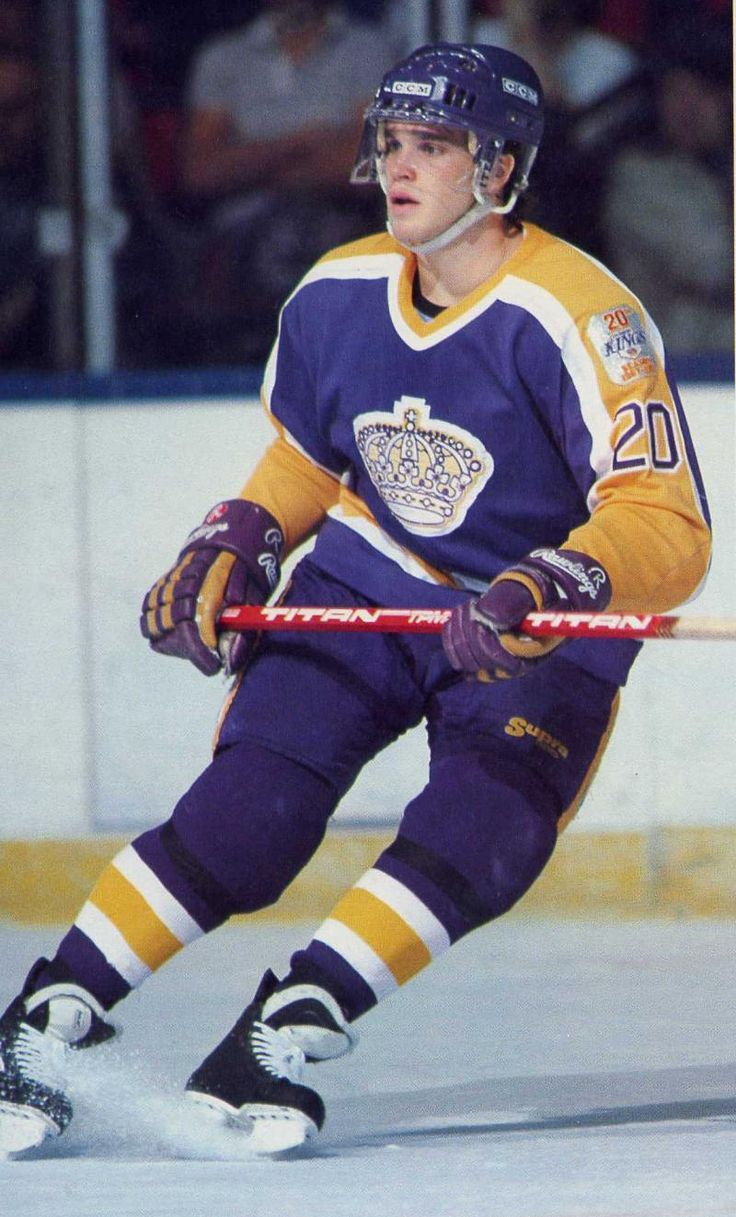 Luc Robitaille   Los Angeles Kings   NHL   Hockey