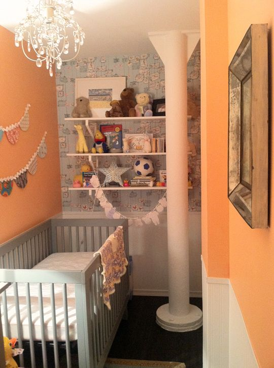 17 best ideas about small space nursery on pinterest baby storage small nursery organization - Baby nursery ideas for small spaces style ...