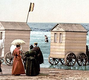 victorian bathing machines - Google Search: