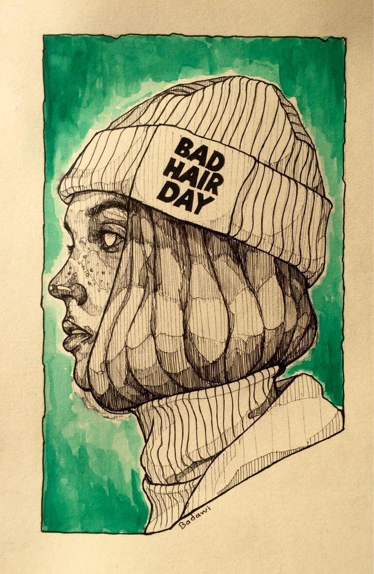 Ink drawing Instagram | badawy183 – #badawy183 #d…