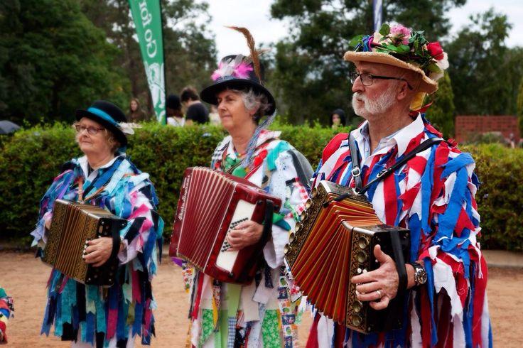 Bright colours and wonderful people.  Fairbridge Festival 2014  https://www.facebook.com/FolkworldFestival