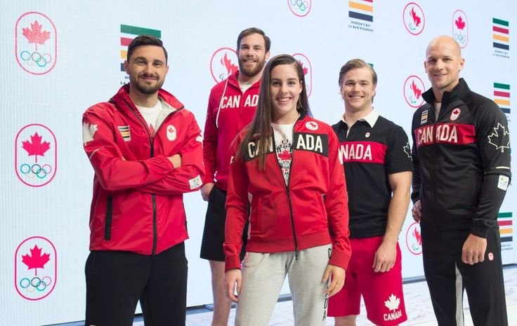 Canada's Athletes with new Jersey