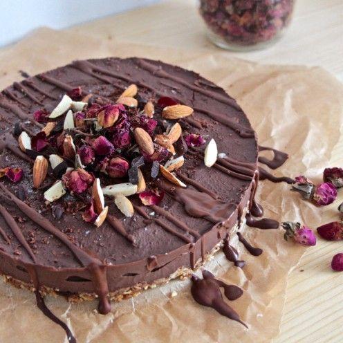 Avril Supermarché Santé – Ganache de chocolat-noisettes et haricots noirs
