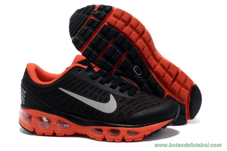 Masculino 9888-10 Nike Air Max Tailwind 5 Preto Vermelho chuteiras de futsal baratas