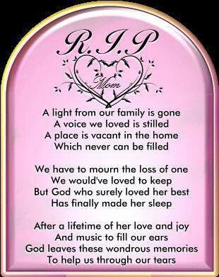 198 best To my mommy images on Pinterest | Dads, Death quotes and ...