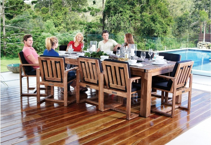 SHADOW Outdoor Timber Setting - Super Amart