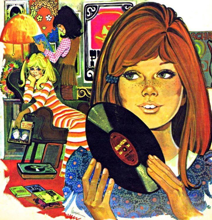 Illustration Purita Campos, 1970