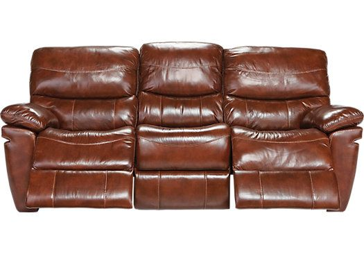 Transform any space into a relaxing retreat with the luxurious La Verona sofa. It offers chestnut colored sumptuous leather upholstery and two padded chaise style footrests for full leg support. Thick padded backs, contoured seats and pillowtop arms cradle and support for the utmost in seating comfort.