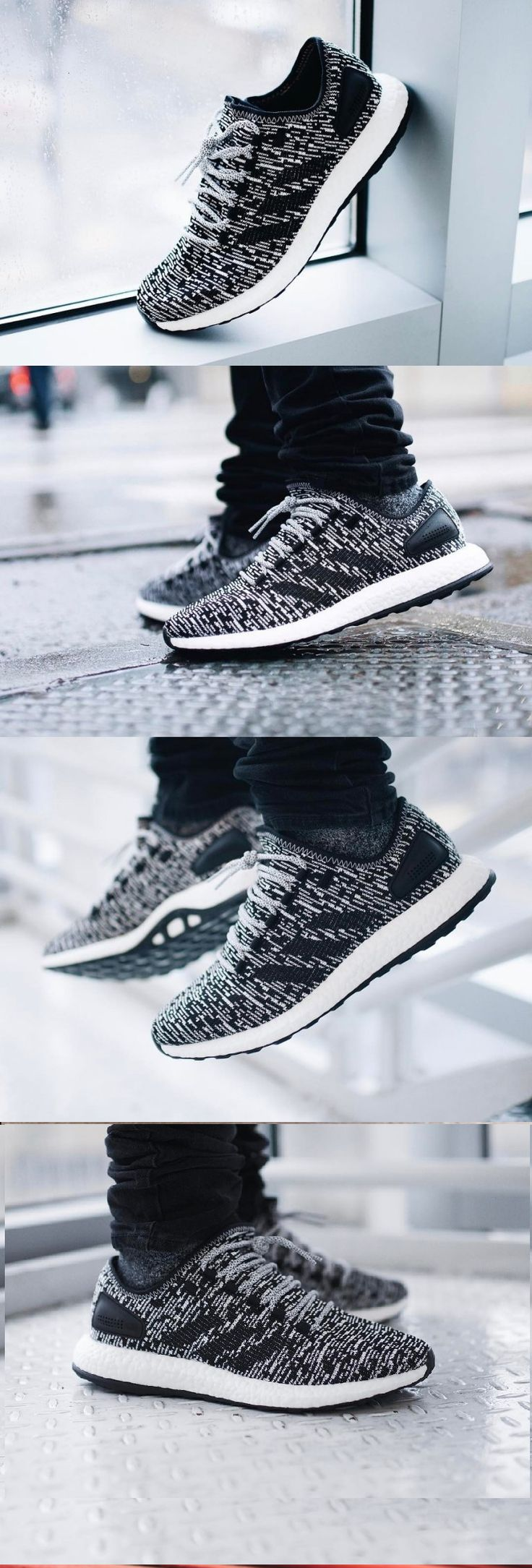 adidas Pure Boost LTD Black White S80704