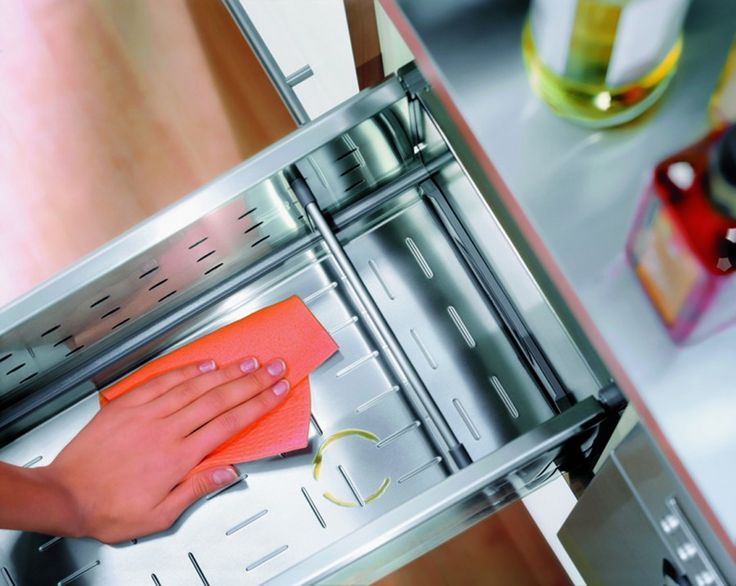 Accesorii Mobilier Bucatarie Blum Sertar Joly cu Tavita de Inox (1)