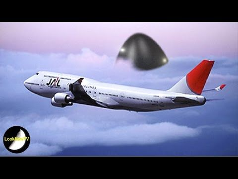 Across The Universe: JAPANESE UFOS - Giant UFO Follows Japanese Airline...