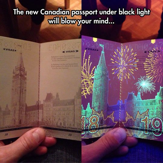 Canadian Passports Are Awesome