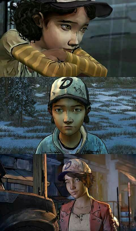 I love Clem's new hair tbh. It reminds me of Fiona from Tales From The Borderlands.