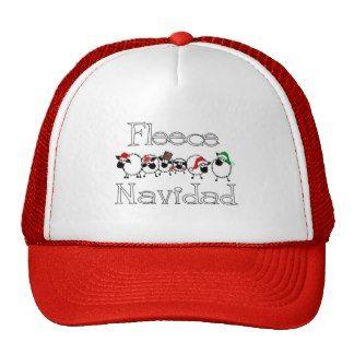 Fleece Navidad Funny Christmas Apparel Trucker Hat